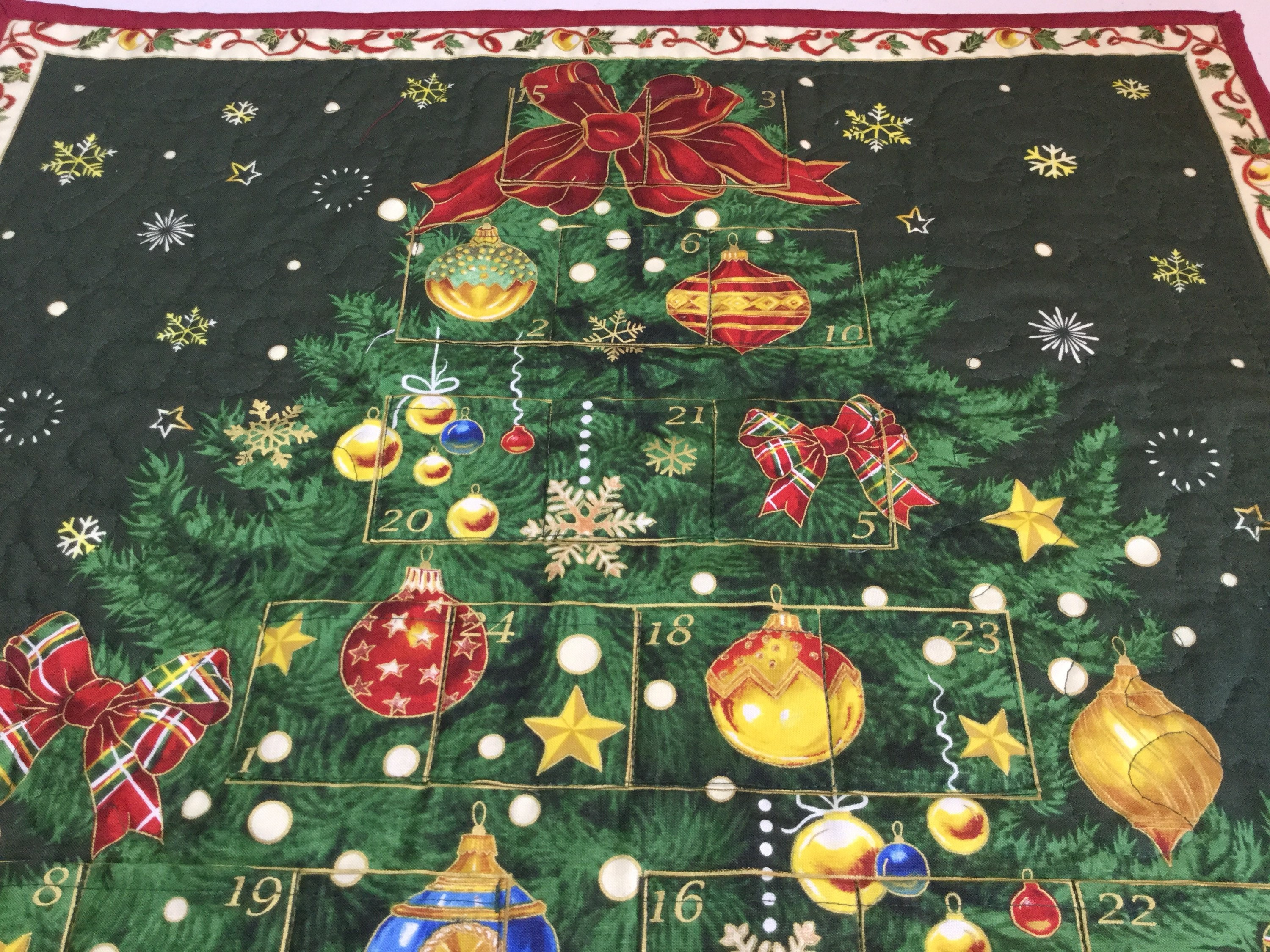 christmas advent calendar christmas tree calendar christmas countdown advent calendar heirloom christmas