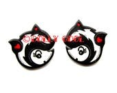 Skunk Earrings by Dolly Cool Super cute and Kawaii Retro Vintage 50s Valentine Style