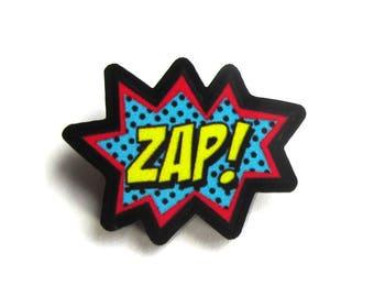 Zap Comic Sound Mini Pin by Dolly Cool