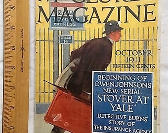 1911 McClure's Magazine Lincoln Conspirators Executioner Old Advertising Tenements +