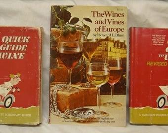 Vintage Wine Guidebooks