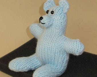 40% OFF SALE Instant Digital PDF Download Knitting Pattern - Two Hour Teddy Bear