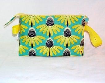 Echinacea on Green Tall Mia Bag