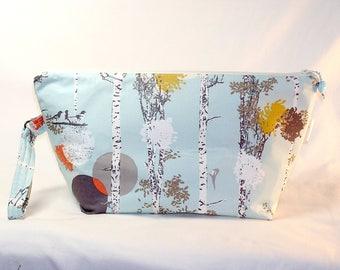 Birds in Birches Beckett Bag