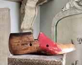 SUMMER SALE Antique last for a child's shoe