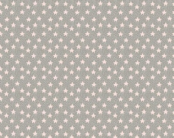 Blend Fabrics by Maude Asbury Sweet Dreams Collection Nightfall Stars in Pink
