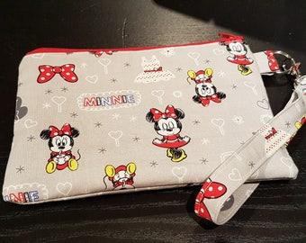 Minnie Mouse Wristlet Bag