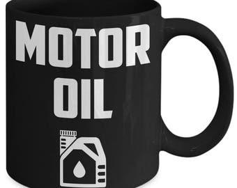 Motor Oil Engine Caffeine Coffee Mug