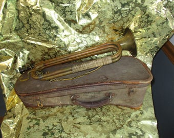 Rexcraft Case with Official Boy Scout Bugle