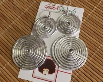 BB BASICS - CHOOSE your style (see samples): Bangin Beauties hammered aluminum earrings