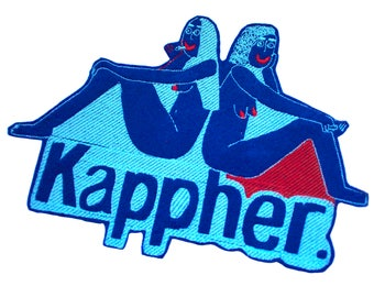 Kappher large embroidered patch