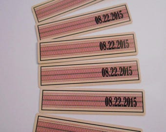 Private Listing for desserts2 Custom Labels - Date seal labels