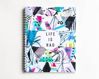 Life Is Rad - DAILY PLANNER (undated)
