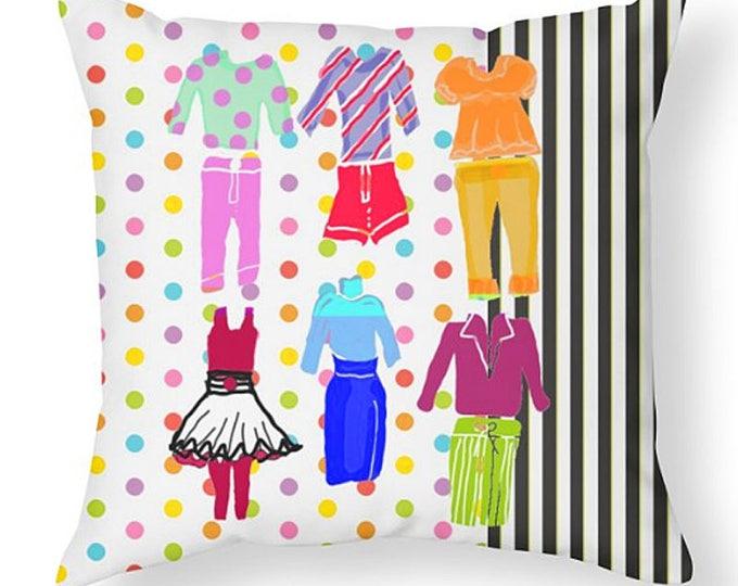 Throw Pillow, Room Decor, Teen Room Decor, Grad Gift, Dorm Decor, Artistic Pillow, Bed in a Bag, Designer Bedding Collection, Girl's Decor