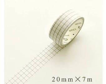 Grid - Light Washi Tape (SC-161)