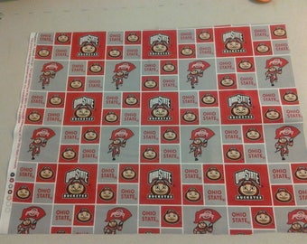 Ohio State Buckeyes Fabric 248126