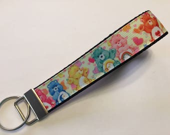 Care Bears Key Fob Keychain wristlet