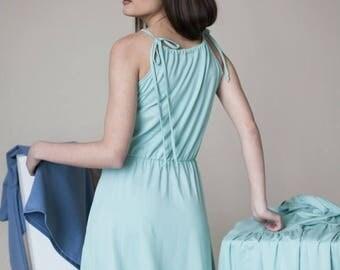 SALE - Sleeveless dress | Straps dress | Vacation dress | LeMuse sleeveless dress