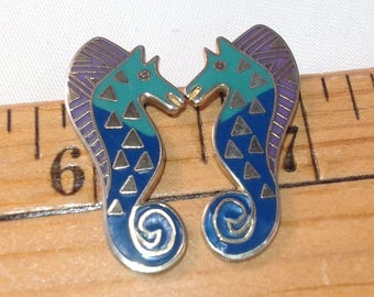 Laurel Burch Sea Stallion Earrings