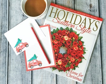 Stationery Set - deck the halls - letter writing