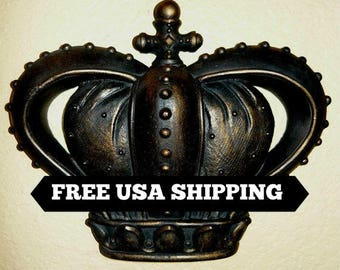 King And Queen Crown Wall Decor crown wall decor | etsy