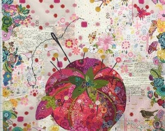 Tomato Pincushion Collage