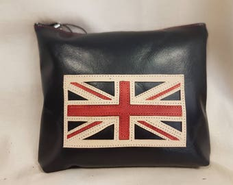 SALE Union Jack Flag Wash Bag