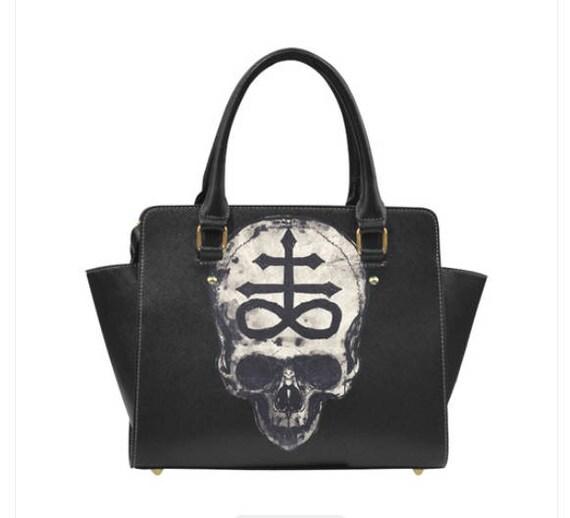 Lucifer Skull Shoulder Handbag