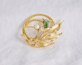 Sarah Coventry Bouquet Brooch