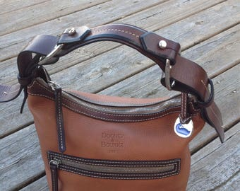 Dooney and Bourke Brown Leather Hobo