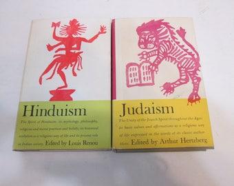 Hinduism by Louis Renou  Judiasm by Arthur Hertzberg