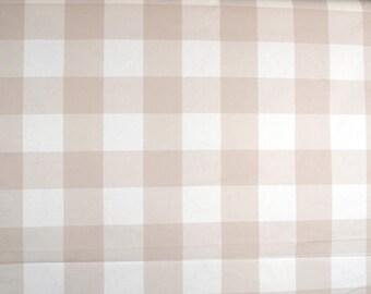 Buffalo Check Linen Fabric