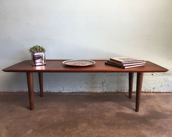 MID CENTURY MODERN Surfboard Coffee Table  (Los Angeles)