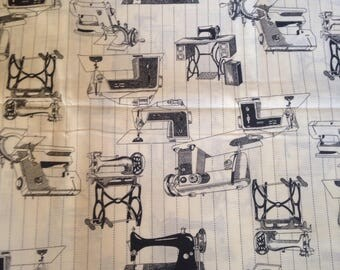 Sewing Machines Cotton Quilting Fabric Singer Treadle