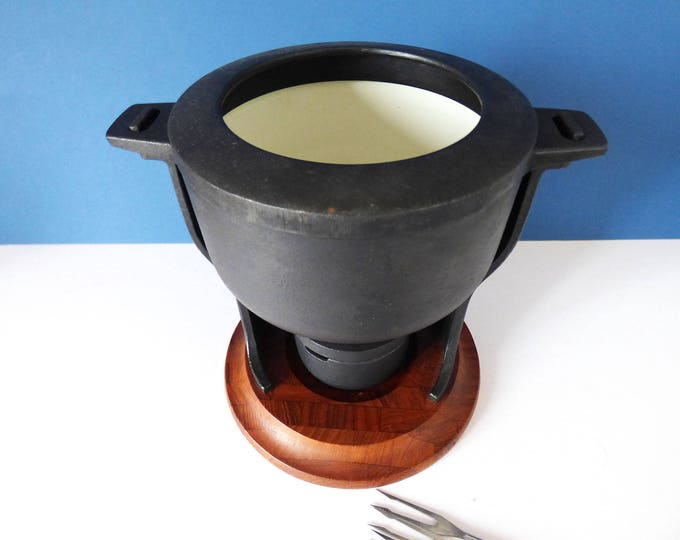 Digsmed Vintage Fondue pot  super modernist Danish