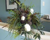 Grassy Table Arrangement