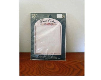 """True Colors Backgrounds - Cross Stitch Or Ribbon Embroidery Fabric - """"Chantilly"""""""