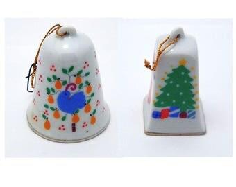 Pair of Lillian Vernon Christmas Bells