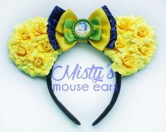 Inspired Joy from Inside Out Rose Mouse Ears
