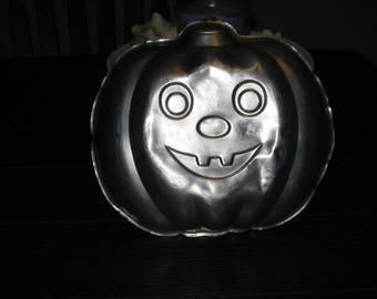 Vintage 1987 Wilton Pumpkin 502-9414 Cake Pan