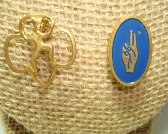 1970's  Brownie Scout Pins.