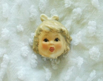 Vintage Antique German Hummel Doll Head Listing #42