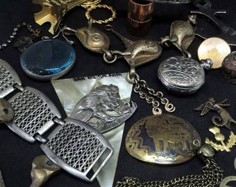 20x Vintage Metal Trinkets... Found Objects... Altered Art... Assemblage Bits and Bobs