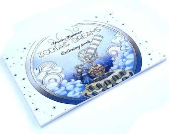 Zodiac Dreams Coloring book
