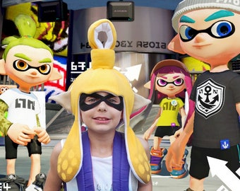 Splatoon 2 Hat Squid Inkling GirlSplatoon Cosplay