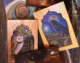 small pack of 5 A6 cards