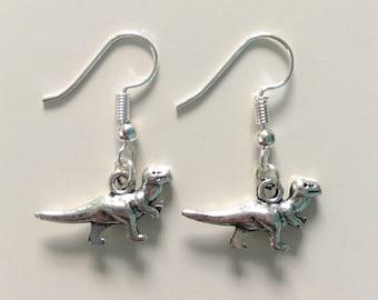 Dinosaur T-Rex Earrings