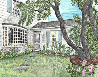 Original Watercolor of Your Home or Business