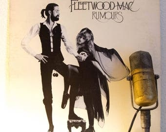 """ON SALE Fleetwood Mac Vinyl Record Albums LPs 1970s Classic Rock and Roll West Coast Soft Rock """"Rumours"""" (1977 Wb w/""""Go Your Own Way"""", """"Drea"""