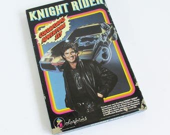 1982 Knight Rider Colorform's Play Set - Vintage Fun with David Hasselhoff